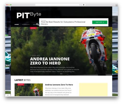 Sowe WordPress theme - pitbyte.com