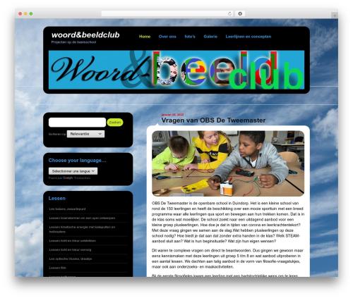 Template WordPress Selecta - woordenbeeldclub.com