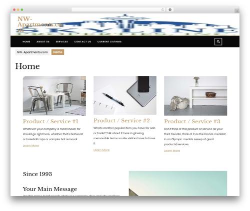 VW Lawyer Attorney real estate template WordPress - nw-apt.com