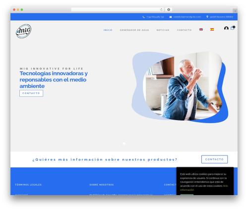 WP theme Rayko - mandg-bc.com