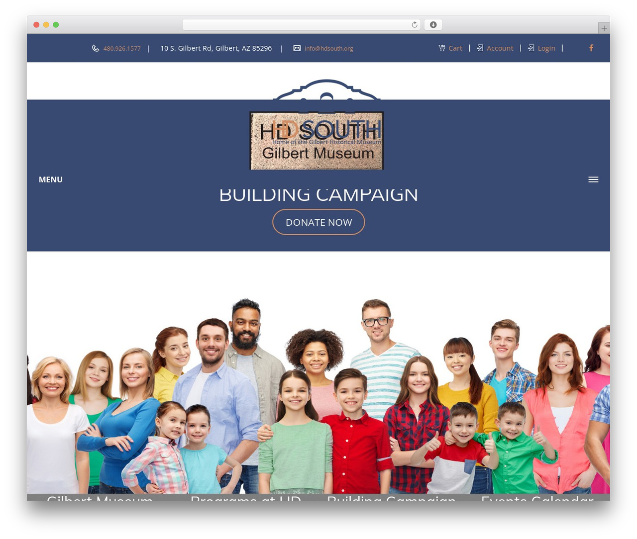 WP theme Veda - hdsouth.org
