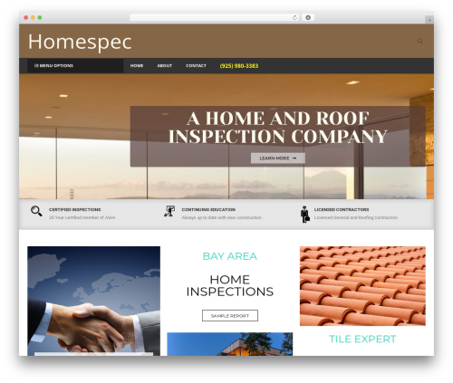Astore WordPress ecommerce template - askhomespec.com