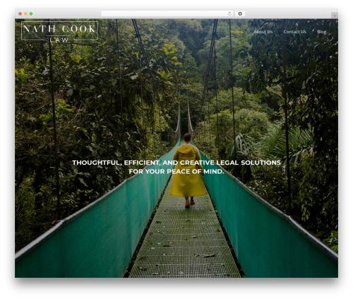 Impreza top WordPress theme - nathcook.com