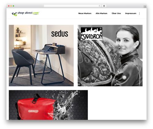 Pitch WP template - e-shop-direct.com