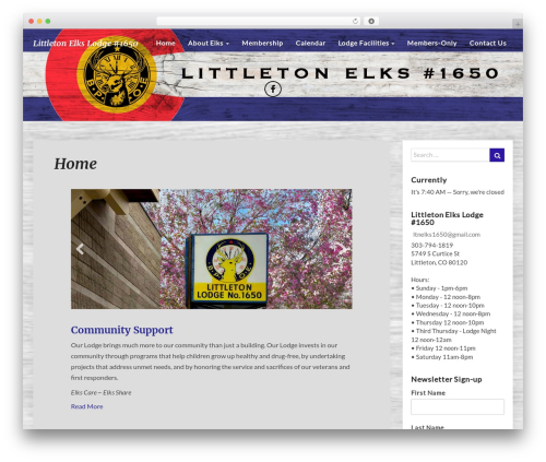 WordPress template SEOlib - littletonelks1650.com