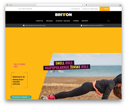 WordPress theme BoxShop - britton.hr
