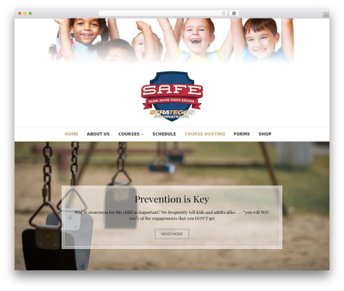 Edge free WordPress theme - keepthemsafeus.com