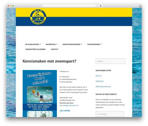 Edin free WP theme - woelwaters.nl