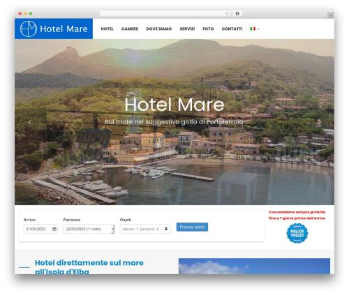 Hotel WP WordPress hotel theme - hotelmare.org