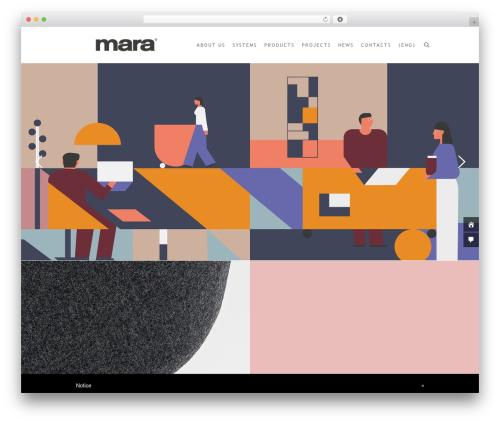 Luxury Spa WordPress page template - marasrl.it