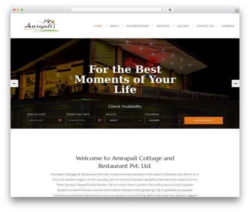 Swing Lite theme WordPress - amrapalicottage.com