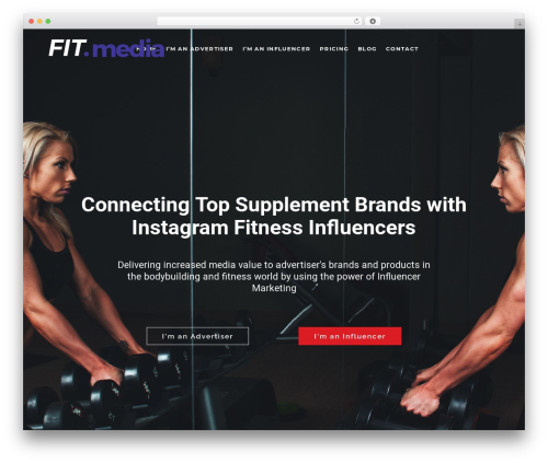TopFit top WordPress theme - fit.media