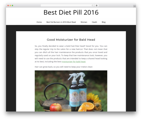 WordPress theme Patria - bestdietpill2016.com
