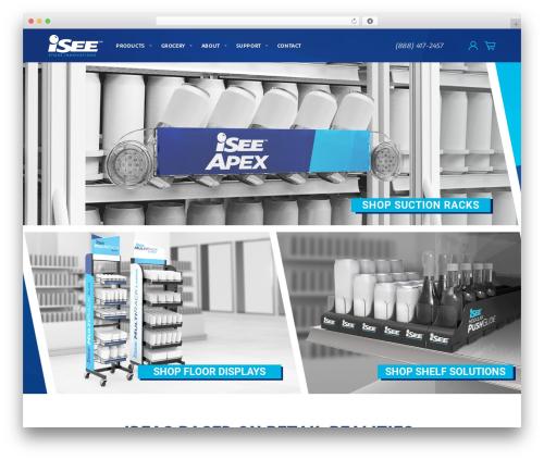 Wowmall WordPress store theme - iseeinnovation.com