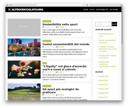 AppSetter best WordPress theme - altrocioccolato.org