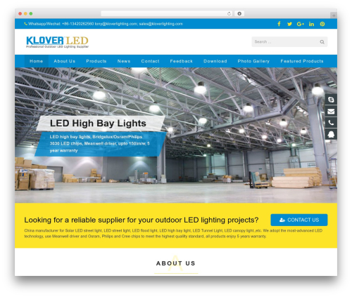 Best WordPress theme sohowp - kloverlighting.com
