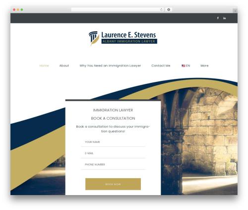 LegalAlien WordPress template - stevensimmigrationlaw.com