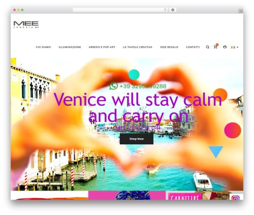 WordPress theme LA Zyra - meevenezia.com