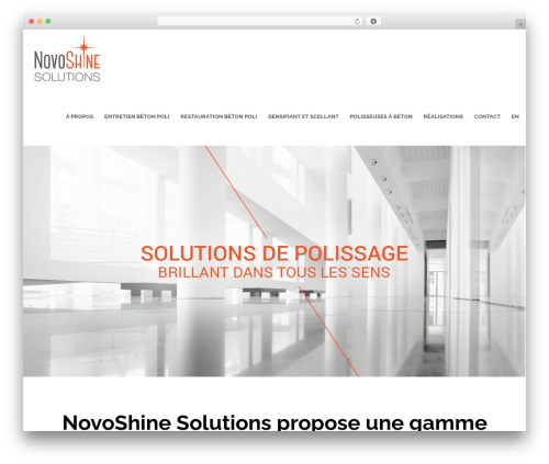 Best WordPress template Movedo - novoshinesolutions.com