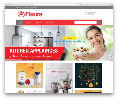 harveststore best WooCommerce theme - flauraappliances.com