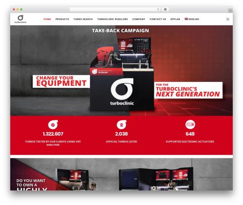 Movedo WordPress template for business - turboclinic.com
