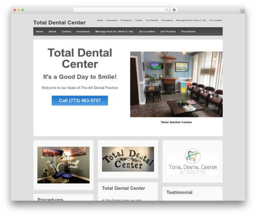 Responsive WordPress theme free download - totaldentalcenter.com