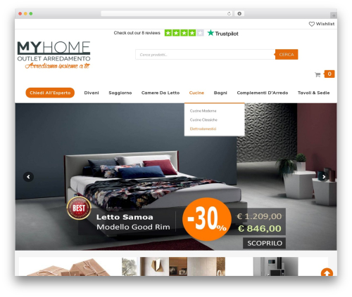 SW_Supershop WordPress ecommerce template - outletmyhome.com