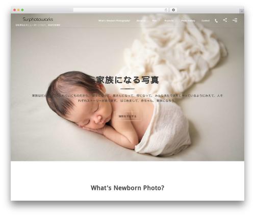 WordPress theme fresco by DigiPress - surphotoworks.com