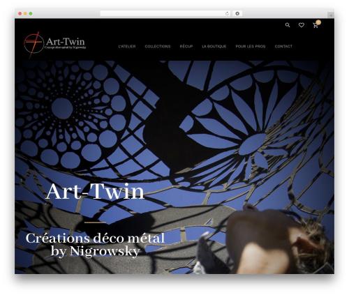 WordPress theme June - art-twin.fr