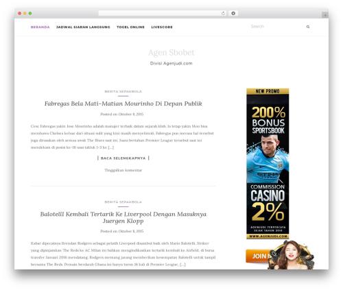 Activello WP template - sbobet909.com