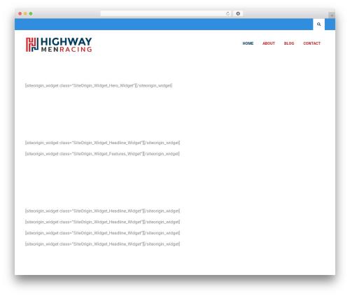 Deep Business business WordPress theme - highwaymenmc.com