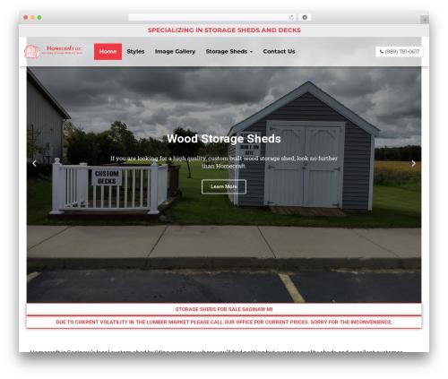 weblocal2018 WordPress shopping theme - homecraftbuilding.com