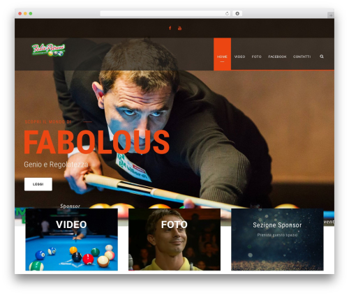 BigSlam WordPress theme - fabiopetroni.net