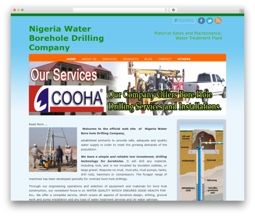 D5 Socialia WordPress theme free download - waterboreholedrilling.com