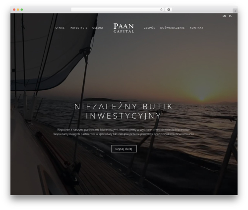 Divi WordPress theme - paancapital.com