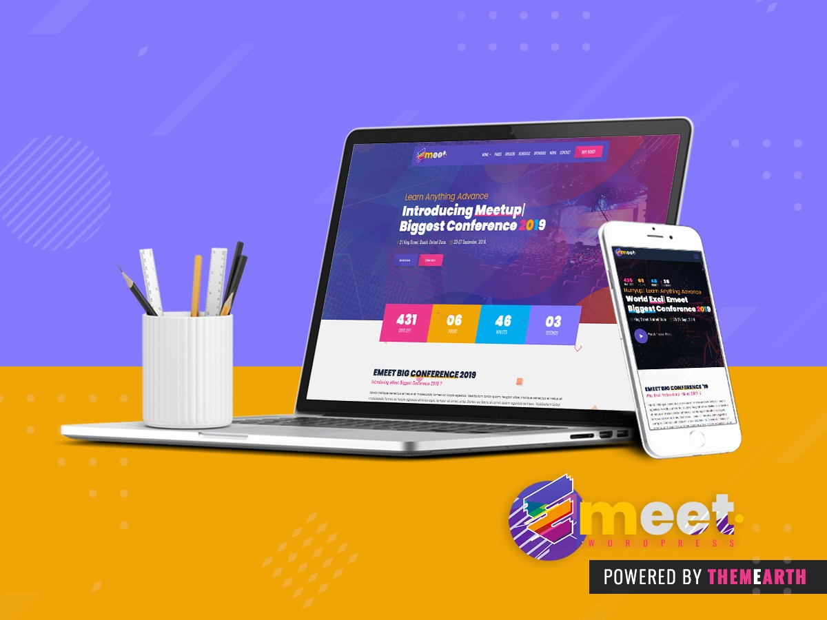 Emeet Child top WordPress theme