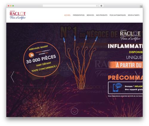 AccessPress Parallax WordPress free download - artifice-raclot.com