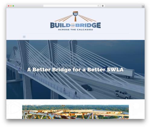 Betheme premium WordPress theme - buildourbridge.org