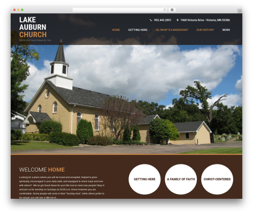 Coffee Pro WordPress news theme - lakeauburnchurch.org
