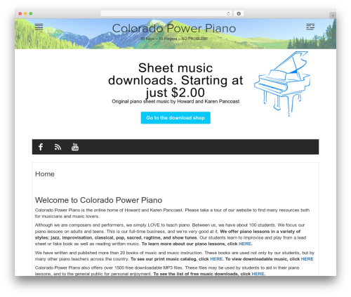 Free WordPress Companion Sitemap Generator plugin - coloradopowerpiano.com
