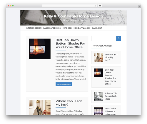 Socrates v5 WordPress template for business - kelleyandcompanyhomedesign.com