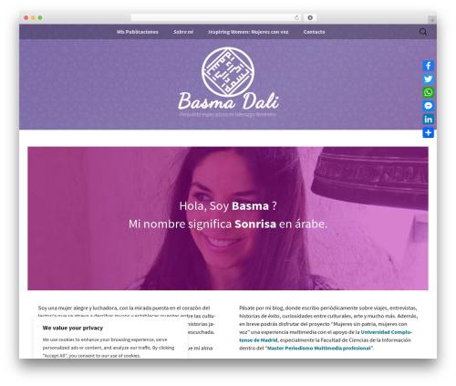 Twenty Thirteen template WordPress free - basmadali.com