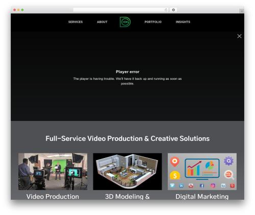 WordPress theme Customify - digitalgardenmedia.com