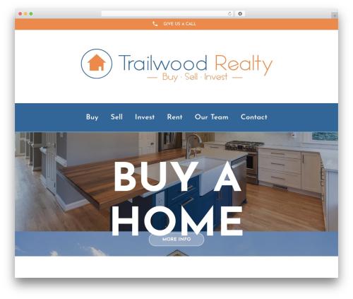 Avada premium WordPress theme - trailwoodrealty.com
