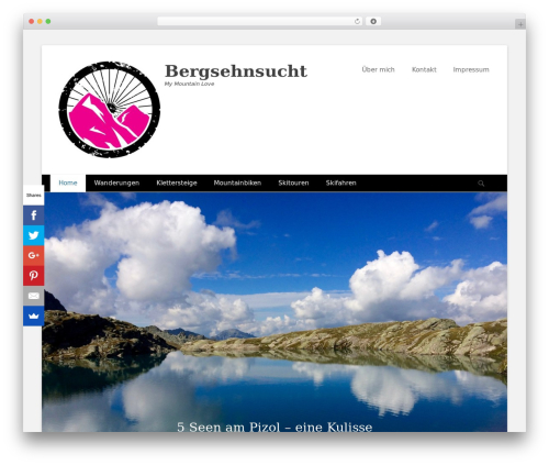 Catch Base Pro best restaurant WordPress theme - bergsehnsucht.com