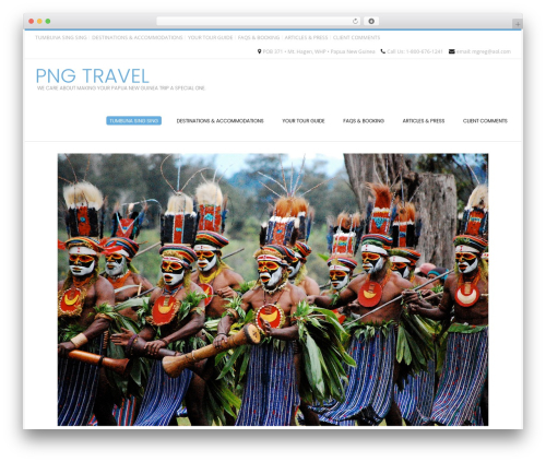 Conica WordPress template free download - pngtravel.com