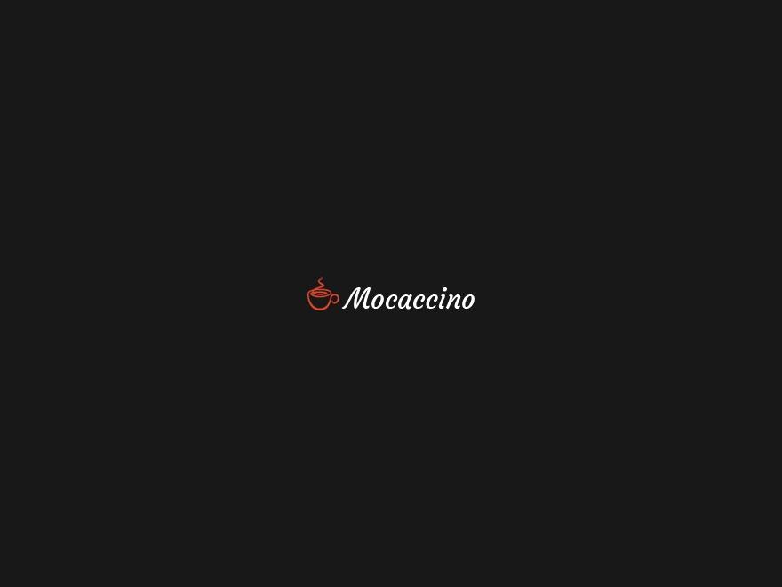 Mocaccino (shared on wplocker.com) theme WordPress portfolio