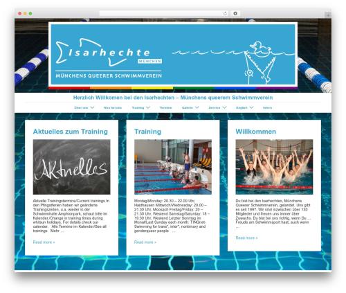 Responsive template WordPress free - isarhechte.de