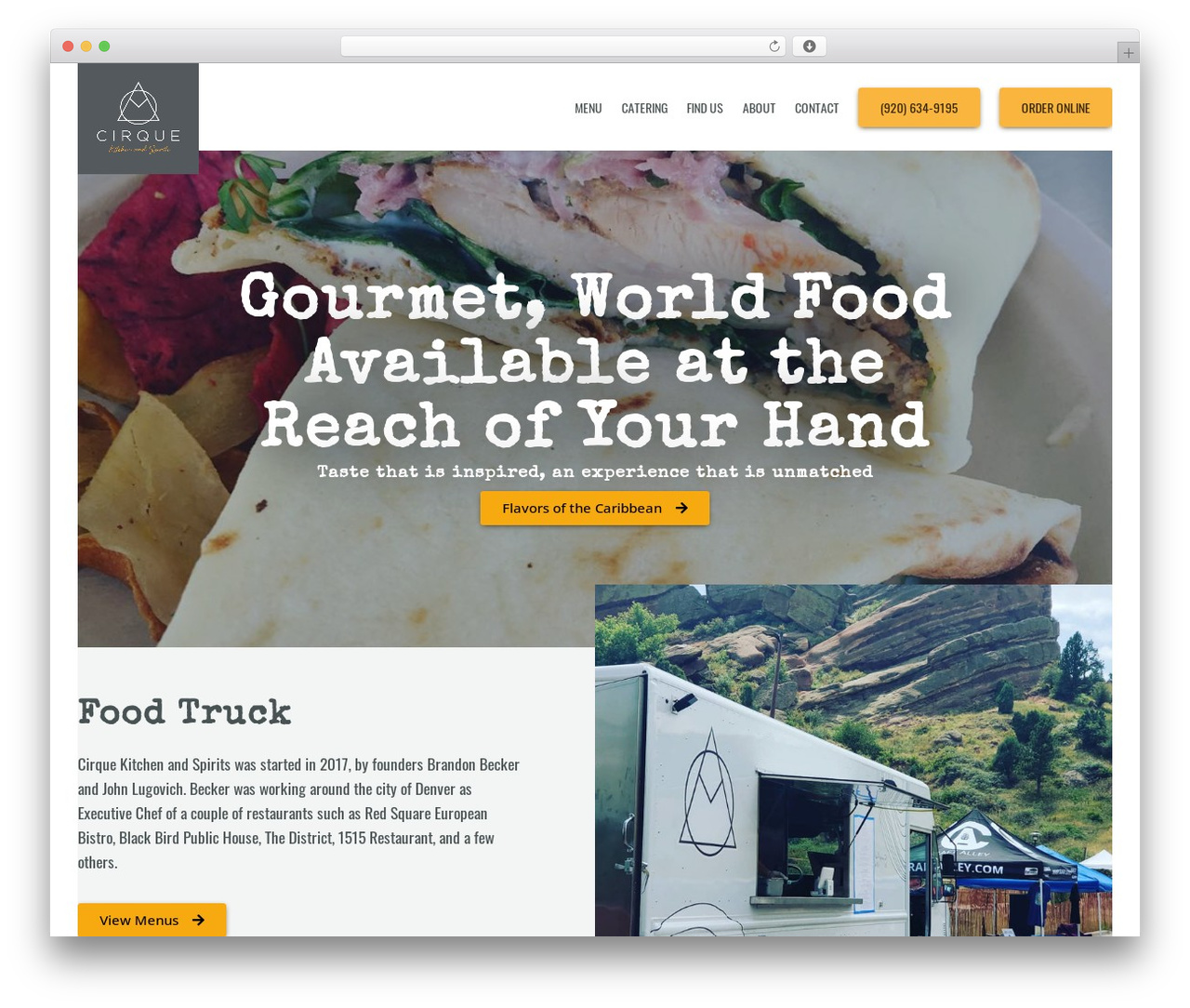 Thors Viking Theme food WordPress theme - cirquekitchen.com