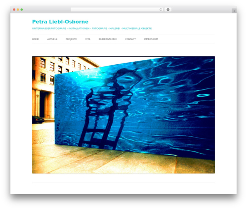 Twenty Twelve template WordPress free - petra-liebl-osborne.de